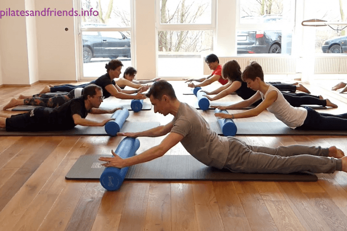 Reformer on the Mat mit der Rolle mit Andy Raaflaub (10,5 Min)