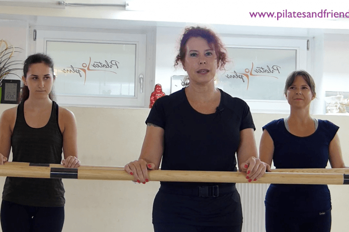 Tutorial über Fletcher Pilates mit Silvia Guidi  (13,5 Min)