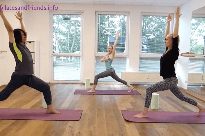 Faszien Yoga Morning Flow mit Daniela Meinl  (34 Min)