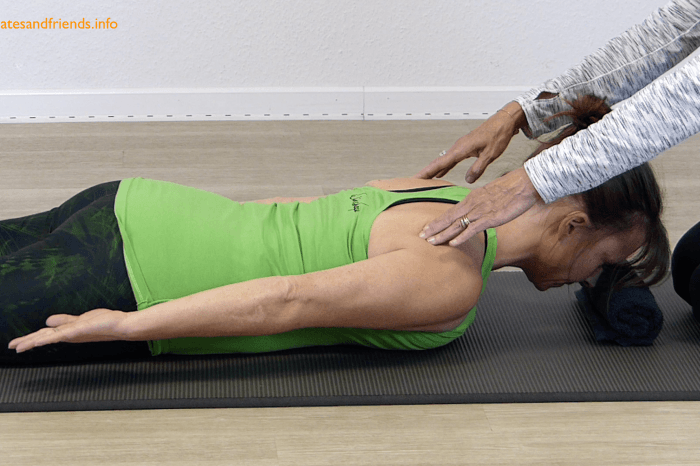 Chapter 6 - Prone: the scapula, head and arms. (2,5 Min)