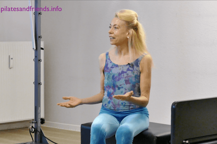 Interval Reformer Training - moderate tempo with detailed instruction with Elizabeth Larkam  (76 Min)  (L 2) (englisch)