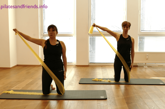 Reformer on the Mat mit dem Theraband mit Kerstin Bredehorn  (36 Min)  (L 2)